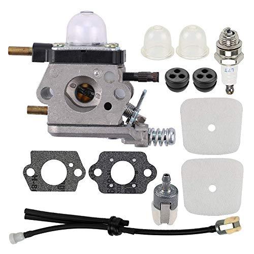 Best Price! Luntus C1U-K54A C1U-K17 Carburetor Repower Kit for 2-Cycle Mantis 7222 7222E 7222M 7225 ...