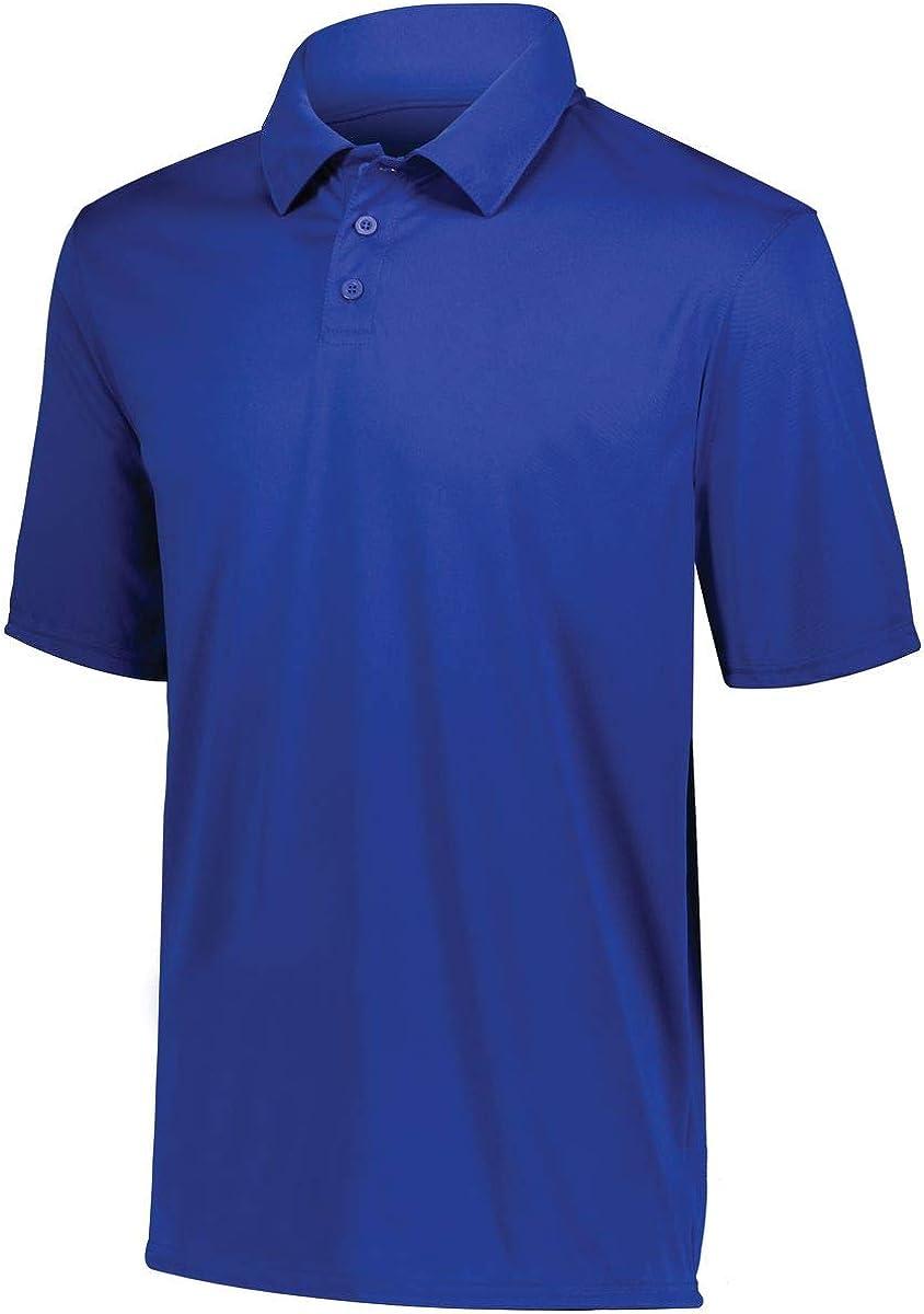 Augusta Sportswear Boys' Short Sleeve Polo Shirt, Royal, Medium