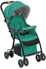 Estructura s/úper liviana Joyello Sillita de Paseo modelo Cucciolo Cierre tipo paraguas con un solo gesto Verde