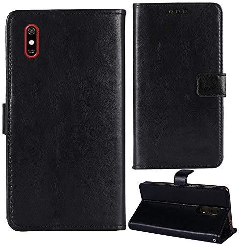 Lankashi Premium Retro Business Flip Book Stand Brieftasche Leder Tasche Schütz Hülle Handy Handy Hülle Für TP-Link Neffos C9 Max 6.09