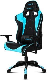 Drift DR300BL - Silla Gaming Profesional, (Polipiel Alta Calidad, Ergonómica), Color Negro/Azul