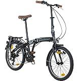 Galano Klapprad 20 Zoll Faltrad Special Edition Bike Klappfahrrad 6