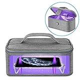 Vemingo - Caja esterilizadora UVC portátil de tamaño pequeño, con lámparas...