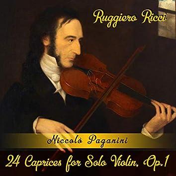 Niccolò Paganini: 24 Caprices for Solo Violin, Op.1