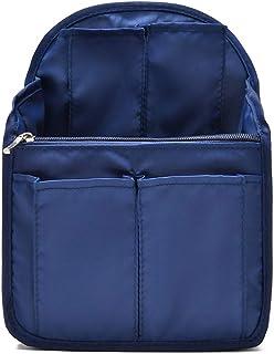 حقيبة ظهر HOYOFO منظم حقيبة سفر حقيبة ظهر المنظم للرجال والنساء حقائب الكتف ، أزرق داكن