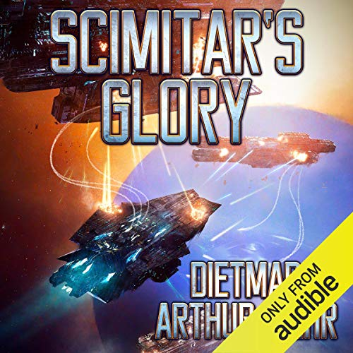 Scimitar's Glory                   Written by:                                                                                                                                 Dietmar Wehr                               Narrated by:                                                                                                                                 Gabriel Vaughan                      Length: 7 hrs and 44 mins     1 rating     Overall 3.0