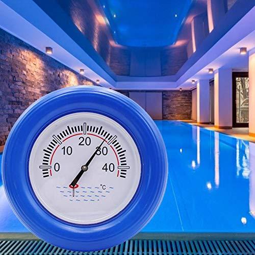 talogca Schwimmbadthermometer, Schwimmender Pool Thermometer, Rundwassertemperaturmessgerät, Leicht Zu Lesen Und Shatter Resistant