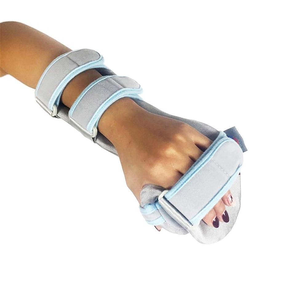 補助構造的科学的HEALIFTY 指スプリントフィンガー手首骨折固定足場用腱腱炎腱炎骨折関節炎転位(右手)