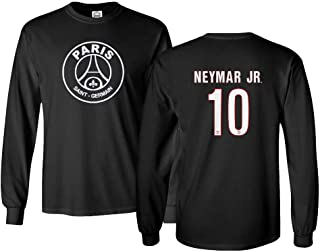 psg black jersey long sleeve
