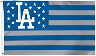 WinCraft MLB Los Angeles Dodgers 02708115 Deluxe Flag, 3' x 5'
