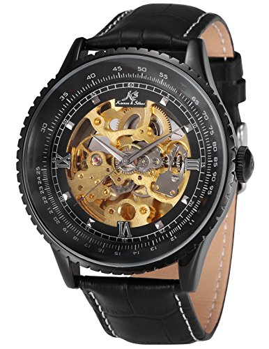 KS Automatikuhr XXL groß Herren Uhr Mechanische Automatik Uhr Herrenuhr Armbanduhr KS114