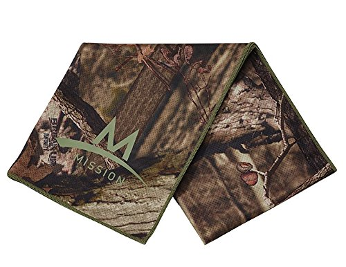 Mission Enduracool Techknit Cooling Towel, Mossy Oak, Large