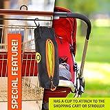GOMOOY Set 5 Shopping Tote Bag Cabas Sac À Provisions Réutilisable Chariot De Courses   INNOVANTE CONTENEURS DE RANGEMENT   Shopper Lotus Trolley Bags Sacs Pliable Pour Supermarché  