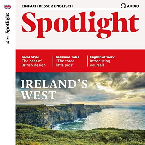 Spotlight Audio - Ireland's West. 3/2019 Titelbild