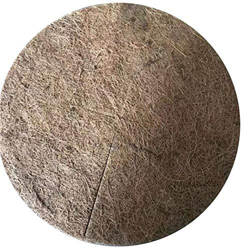 iBaste Kokosfasern Mulch Ring Baumschutzmatte, 10PCS Kokosnuss Mulch Abdeckung Mulch Scheibe Pflanzen Abdeckung Kokosmatte Für die Gartenarbeit