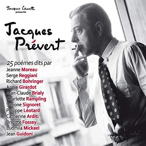 Jacques Prévert audiobook cover art