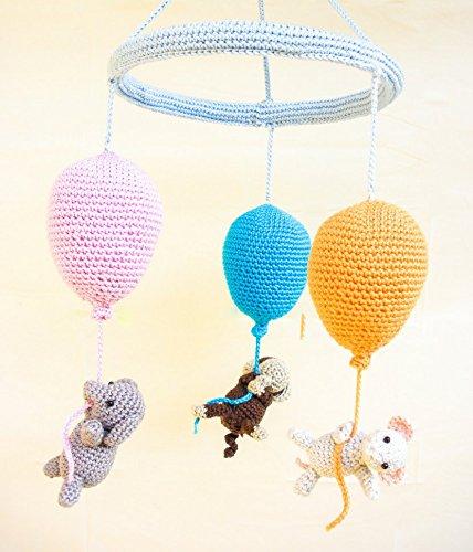Babyzimmer Mobielchen Ballons