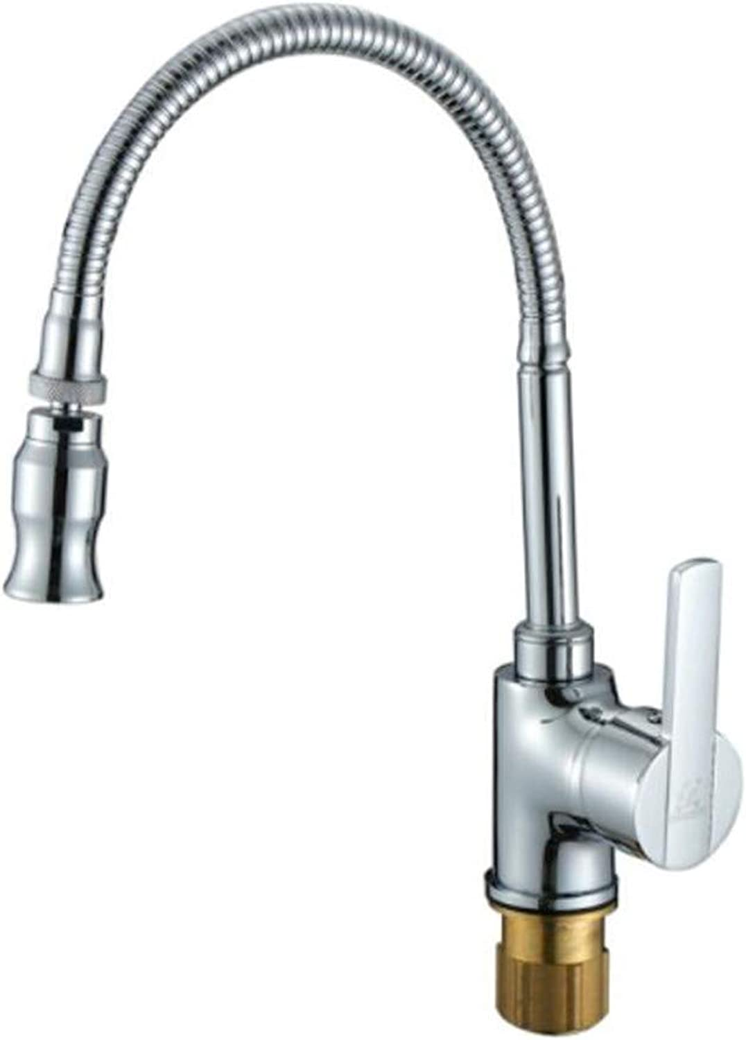 Taps Mixer?Swivel?Faucet Sink Cool and Hot Faucets of Kitchen Dishwash Basin Sink Can redate and Flex in Universal Direction