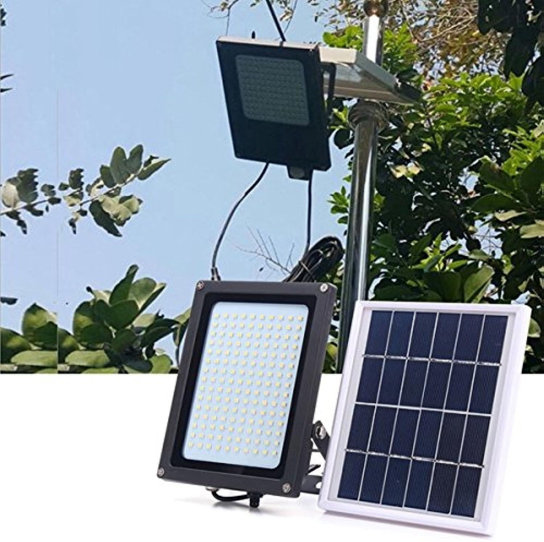 BZAHW Solarbetriebene 150 LED Radar-Bewegungs-Sensor-Flut-Licht-wasserdichte im Freien warme weie Sicherheits-Lampe BZAHW