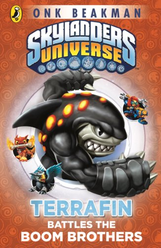 Skylanders Mask of Power: Terrafin Battles the Boom Brothers: Book 4 (English Edition)