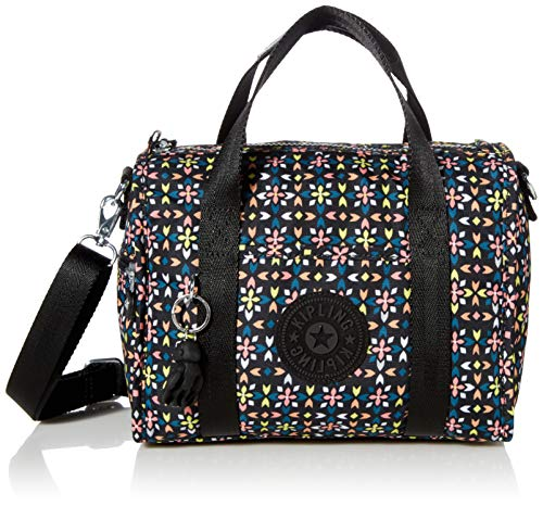 Kipling Women's Silesia Small Duffle Bag, Floral Mozzaik, One Size