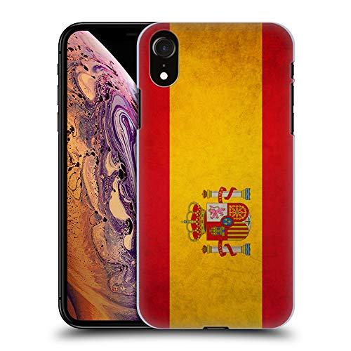 Head Case Designs Español De España Banderas Vintage Carcasa rígida Compatible con Apple iPhone XR