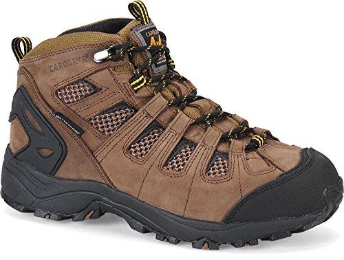 Carolina Boots: Men's Dark Brown 4X4 Waterproof Hiker CA4025 - 14EE