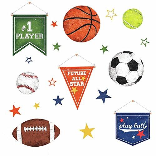 Preisvergleich Produktbild RoomMates - Sport & Bälle