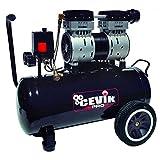 Cevik CA-PRO24SILENT Compresseur silencieux Noir