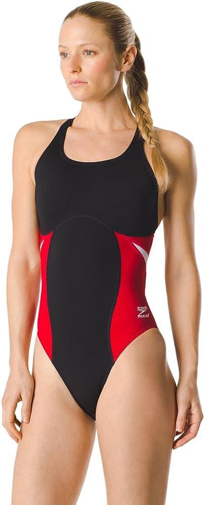 Speedo Women's Swimsuit One Piece Block Super Max 75% OFF Manufacturer regenerated product Pro Endurance+ Adu
