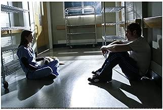 Grey's Anatomy Jeffrey Dean Morgan Sitting On Hospital Hallway Floor 8 x 10 Photo