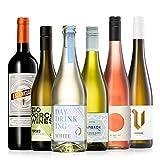 GEILE WEINE Weinpaket SOMMERWEINE (6 x 0,75l) Probierpaket mit Weißwein, Rotwein und Roséwein von Winzern aus Deutschland, Italien und Spanien