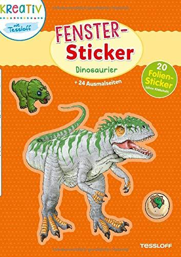 Fenster-Sticker Dinosaurier. Mit 20 Folienstickern