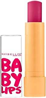 Maybelline Baby Lips Moisturizing Lip Balm, Cherry Me 0.15 oz (Pack of 4)