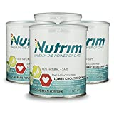 Nutrim® 4-30 Serving Cans (120 Servings) 2-Month Supply - Oat Beta Glucans Help Lower Cholesterol Naturally