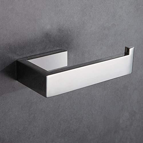 Ecooe Toilettenpapierhalter Wandhalter aus Verchromtem Massivem Kupfer f/ür Badzimmer WC Papierhalter Hochwertiger K/üchenrollenhalter Anti-Rost