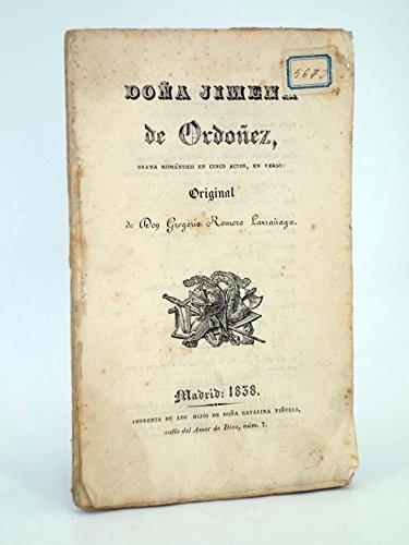 Doña Jimena De Ordóñez. Hijos De Doña Catalina Piñuela