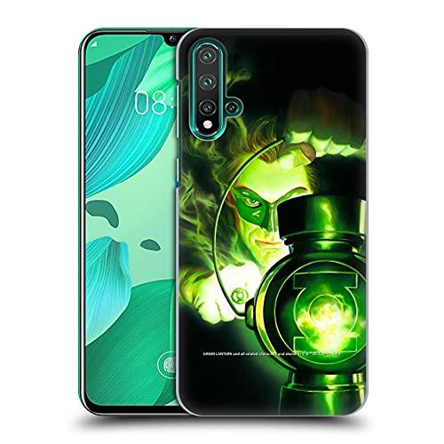 Head Case Designs sous Licence Officielle Green Lantern DC Comics Portrait Couvertures De Magazine De Bandes Dessinées Coque Dure pour l'arrière Compatible avec Huawei Nova 5