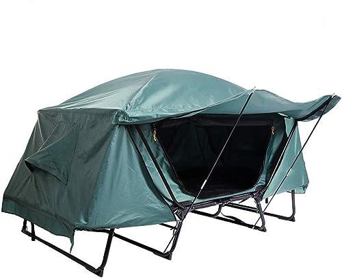 NOBLJX Multi-Fonction Unique Tente Hors-Sol, Tente de Couchage Tente de Camping en Plein air Tente de moustiquaire de Camping en Plein air, étanche au Vent pour la randonnée Aventure