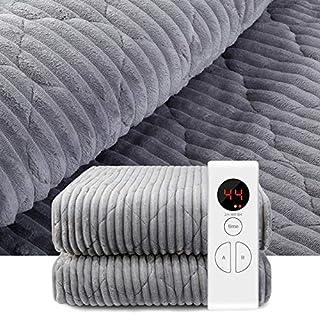 2 personer värmetak med automatisk avstängningstimer | 9 temperaturnivåer | dubbelkontroll värmefilt | underfilt | värmesk...