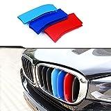適用 14-17 For BMW X5 F15 X6(7 グリル)M フロント グリル トリム カバー バックル エンブレム ドレスアップカバー グリルストライプ