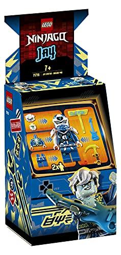 LEGO Ninjago AvatardiJay-PodSalaGiochi, Playset Videogioco Classico Portatile, Giocattoli Ninja da Collezione, 71715