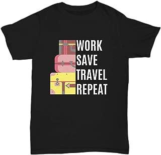 LH SierraPac Work Save Travel Repeat T-Shirt - Unisex Tee