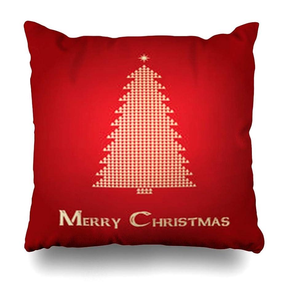 ステープルうまくやる()解明するスロー枕カバークリスマスアブストラクトホリデーツリーブルーヴィンテージブリリアンスブリリアンシーセレブレーションデザイン華やかなホームデコレーションクッションケースSquare18 * 18インチインテリアソファ枕カバー