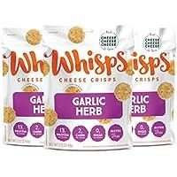 3-Pack Whisps Garlic Herb Parmesan Cheese Crisps