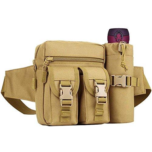 COOLEAD Bolso Cintura Hombre...