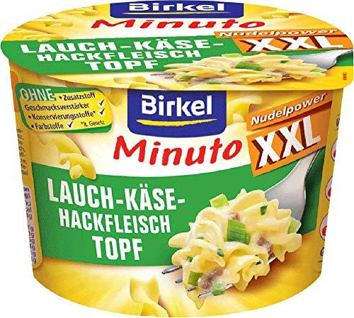 Birkel Minuto XXL Lauch-Käse_Hackfleisch-Topf 6er Pack (6x78g)
