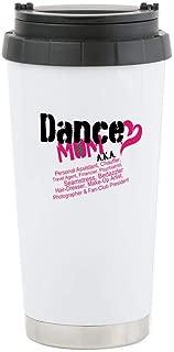 CafePress Dance Mom AKA Stainless Steel Travel Mug Stainless Steel Travel Mug, Insulated 16 oz. Coffee Tumbler