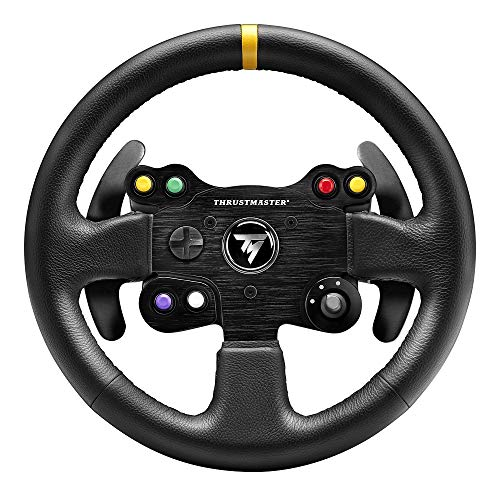 Thrustmaster TM Leather 28 GT Wheel Add-on (Volante Add on per Xbox One/PS4/PS3/PC)