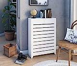 Cubre radiador con Dos cajones. Acabado Lacado. Medidas Exteriores: 65 * 22 * 90 cms. También fabricamos a Medida. Consultar:...